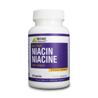 Westcoast Naturals Non-Flush Niacin 500mg