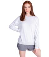 PJ Salvage Colourful Classics Long Sleeve Top Light Grey