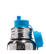 Pura Sport Top Big Mouth Straw Aqua