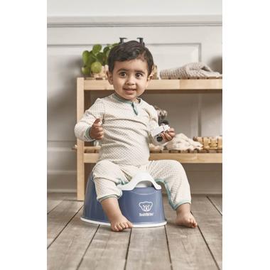 BabyBjorn Smart Potty Deep Blue & White
