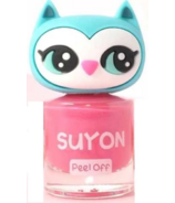 Suyon Nail Polish Awesome Owlia Pink