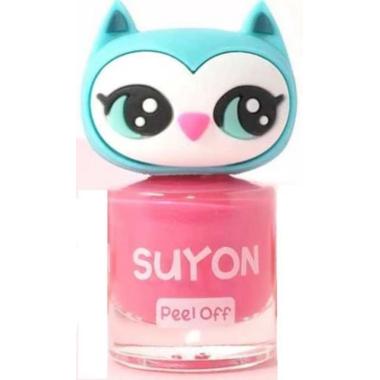 SUYON Nail Polish Awesome Owlia Pink