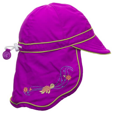 Calikids Long Back Quick-Dry Cap Vivid Orchid