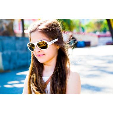 Shadez Classics Children Sunglasses White