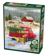 Cobblehill Christmas On The Farm Puzzle
