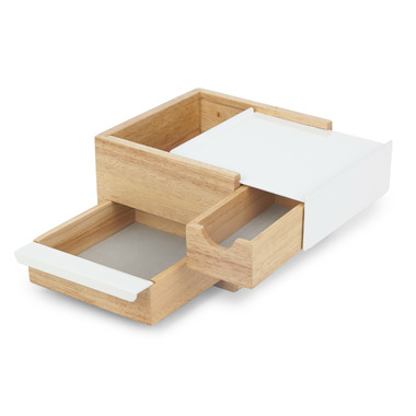 Umbra Mini Stowit Jewelry Box Natural