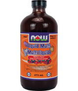 NOW Foods Kids Liquid Multi-Vitamin Wild Berry