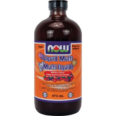 NOW Foods Kids Liquid Multi-Vitamin Wild Berry