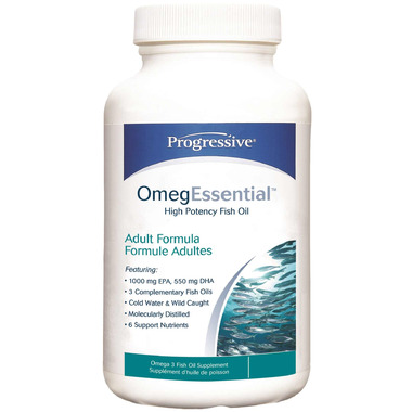 Progressive OmegEssential High Potency Fish Oil