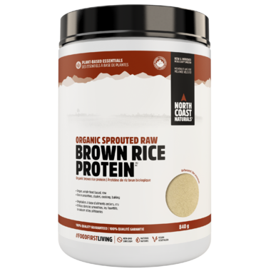 North Coast Naturals Organic Sprouted Raw Brown Rice Protein