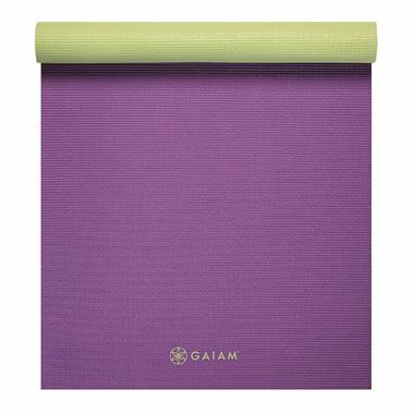 Gaiam Classic Reversible Yoga Mat Grape Cluster