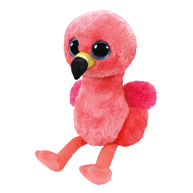 Ty Beanie Boos Gilda The Flamingo
