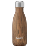S'well Wood Collection Stainless Steel Water Bottle Teakwood