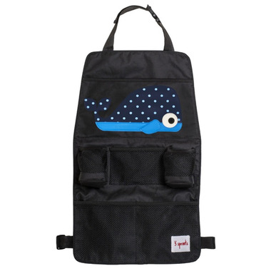 3 Sprouts Backseat Car Organizer Whale