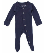 L'oved Baby Organic Footed Overall Navy