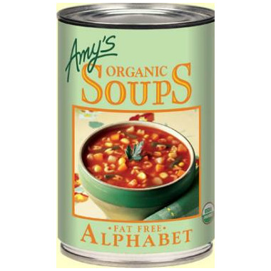 Amy\'s Organic Alphabet Soup