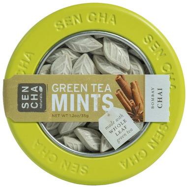 Sencha Naturals Green Tea Mints Tin Bombay Chai