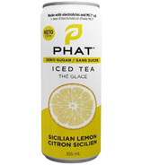 Phat Iced Tea With Electrolytes and MCT Oil Sicilian Lemon