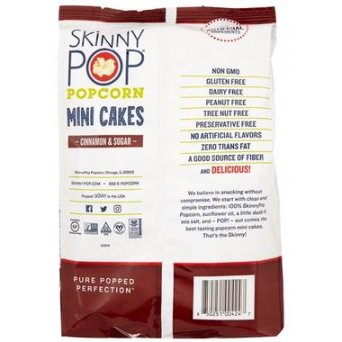 Skinny Pop Cinnamon & Sugar Mini Cakes