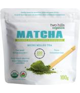 Thé Matcha de Two Hills 1ère récolte de thé vert bio en poudre