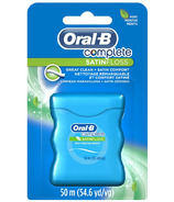 Oral-B Complete SatinFloss Dental Floss Mint