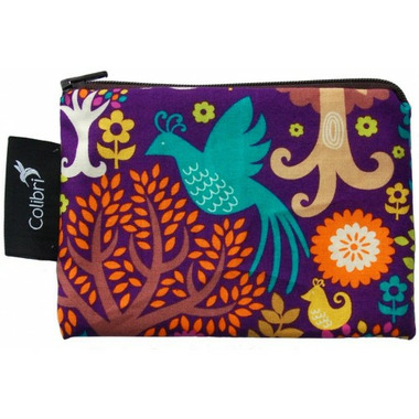 Colibri Reusable Snack Bag Small in Purple Forest