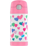 Thermos FUNtainer Insulated Bottle Watercolor Hearts