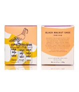 meow meow tweet Black Walnut Sage Bar Soap