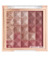 Flower Beauty Pyramids Cheek Color Rose Glow