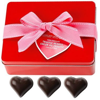 Dufflet Dark Chocolate Truffle Hearts