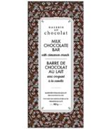 Galerie au Chocolat Milk Chocolate with Cinnamon Crunch Bar