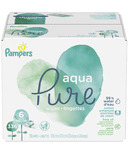 Pampers Aqua Pure Baby Wipes Bulk Pack