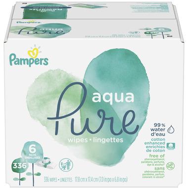 Pampers Aqua Pure Baby Wipes Bulk Pack