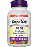 Webber Naturals Grape Seed Extra Strength