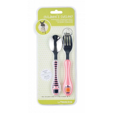 Lassig Little Monsters Stainless Steel Cutlery Mad Mabel