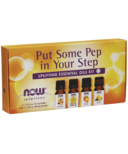 Now Essential Oils Put Some Pep in Your Step Uplifting Essential Oils Kit