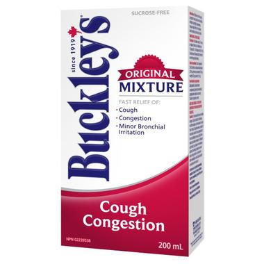 Buckley\'s Cough Congestion Original Mixture Syrup
