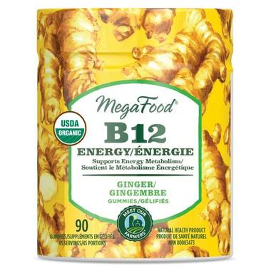 MegaFood Vitamin B12 Energy Ginger Gummies