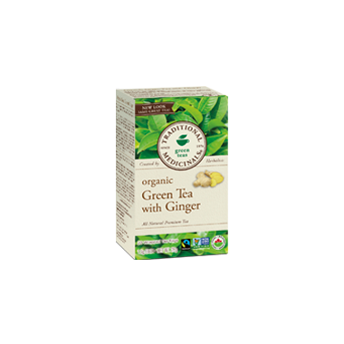 Traditional Medicinals Organic Green with Ginger Tea
