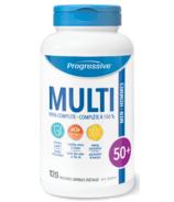 Multi-vitamines Progressive pour les hommes de 50 ans et plus