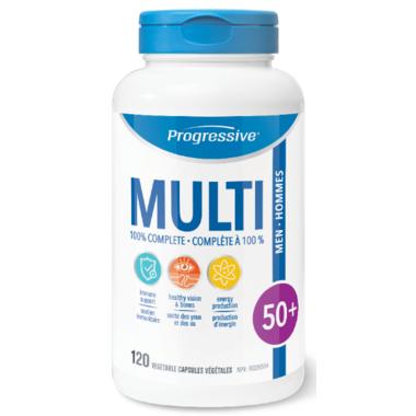 Progressive MultiVitamins For Men 50+