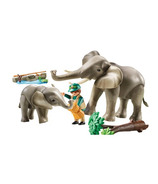 Playmobil Family Fun éléphant et son habitat