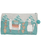 Danica Studio Llamarama Large Cosmetic Bag