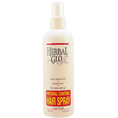 Herbal Glo Natural Control Hair Spray