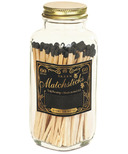 Skeem Vintage Match Bottle Black Gold