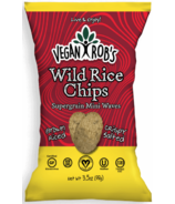 Vegan Rob's Wild Rice Chips