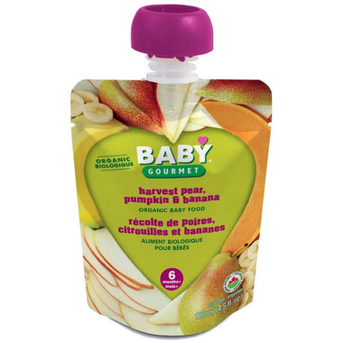 Baby Gourmet Harvest Pear, Pumpkin and Banana Baby Food