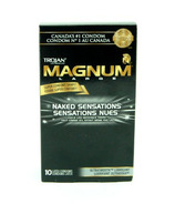Trojan Magnum Naked Sensations Lubricated Latex Condoms