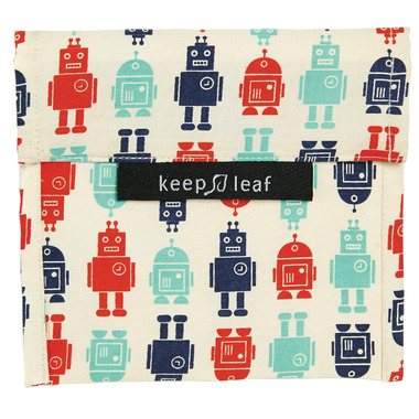 Keep Leaf Organic Cotton Baggie Large Robot