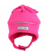Snug As A Bug Reflective Hat Fuschia